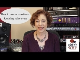 How to do conversational sounding voice overs