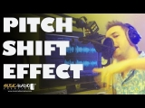 Sliding Pitch Shift Effect from High Pitch to Low Pitch