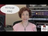 VO script FAQ